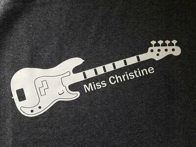 Miss Christine Bass Tee