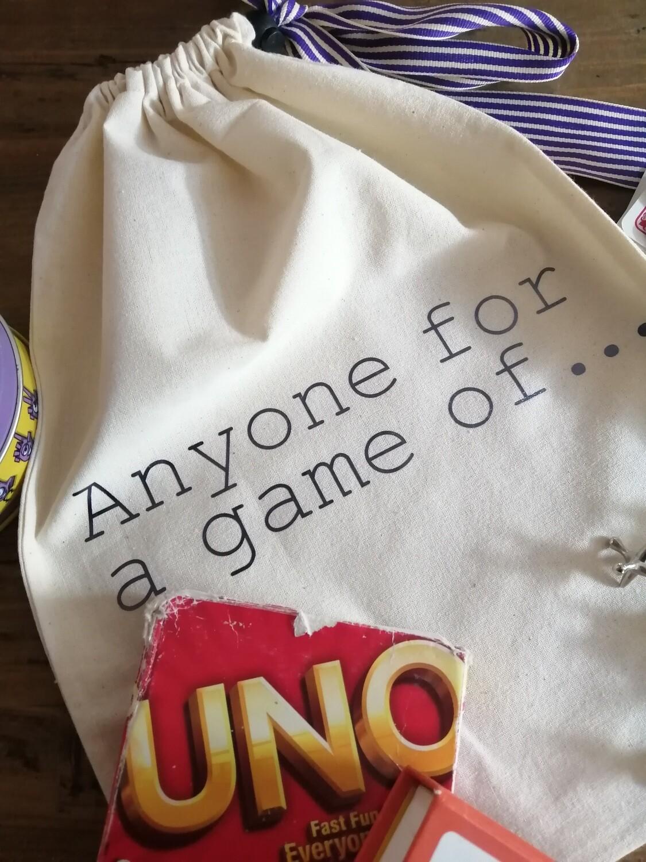 Travel Games Bag