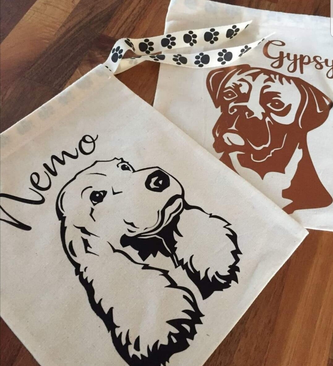 Personalised Dog Treat Bags