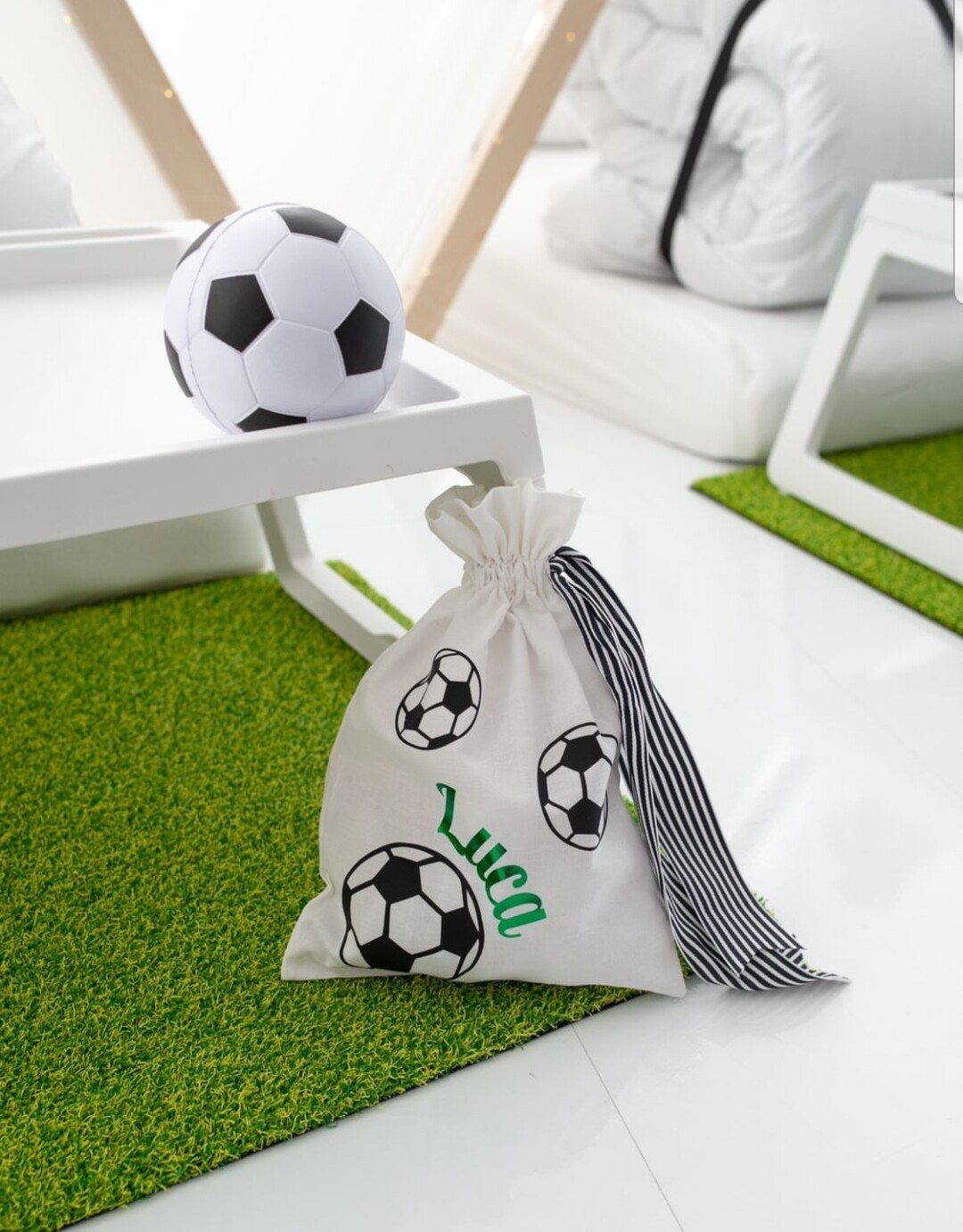 Personalised Football Party Bags