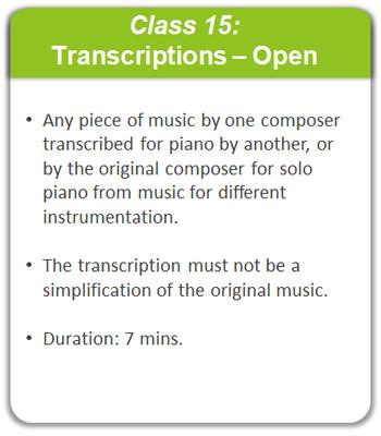 Class 15: Transcriptions - Open
