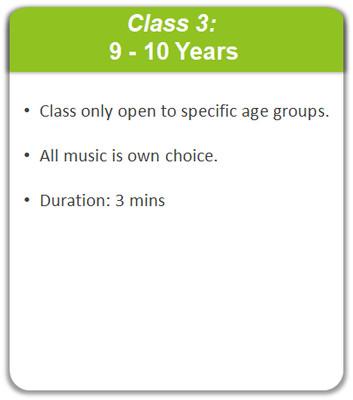 Class 3: 9 - 10 Years