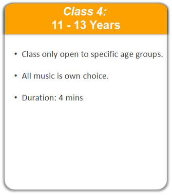 Class 4: 11 - 13 Years