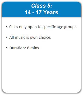 Class 5: 14 - 17 Years