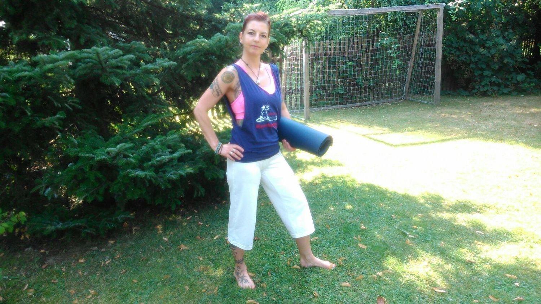 Yoga-Shirt Woman
