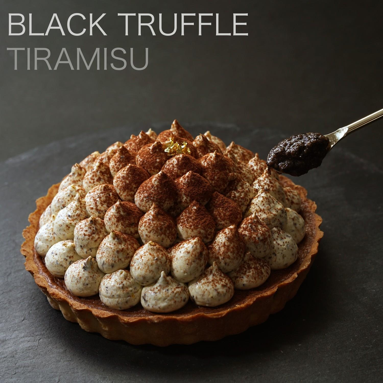 《意大利黑松露》流心朱古力撻/Black Truffle Lava Chocolate Tart