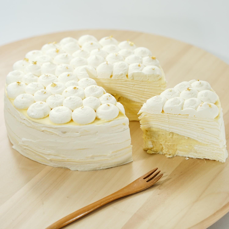 特濃貓山王榴槤千層蛋糕/Musang King Durian Crepe