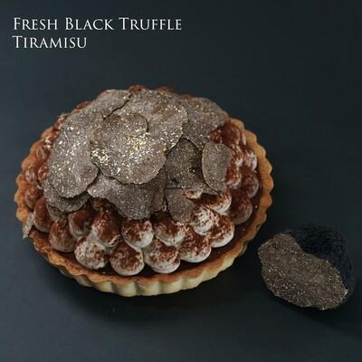 鮮刨黑松露Tiramisu 流心朱古力撻/Fresh Black Truffle Lava Chocolate Tiramisu Tart