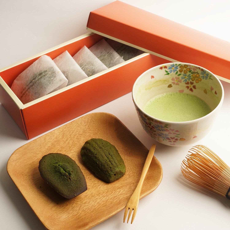 香濃牛油一杯抹茶貝殼蛋糕/Matcha Madeleine