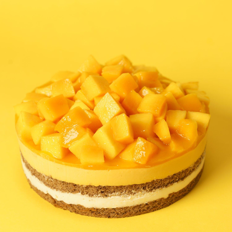 芒果伯爵茶Mousse蛋糕/Mango Earl Grey Tea Mousse Cake