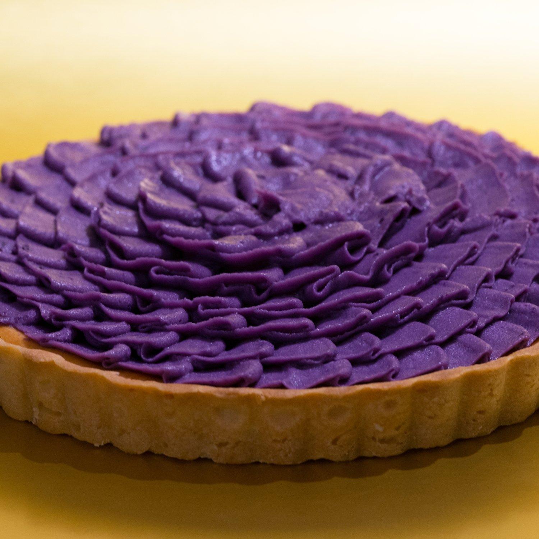 鹿兒島紫薯芝士撻/Purple Potato Cheese Tart