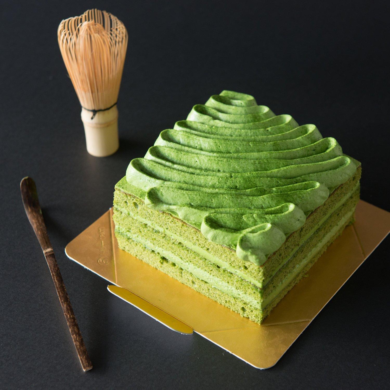 抹茶蛋糕/Matcha Sponge Cake
