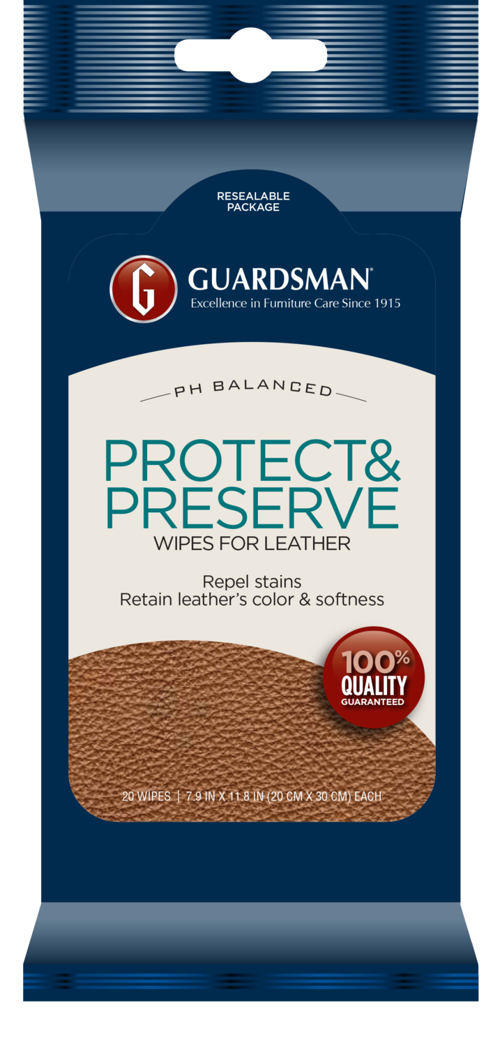 Guardsman Leather Protect & Preserve Wipes