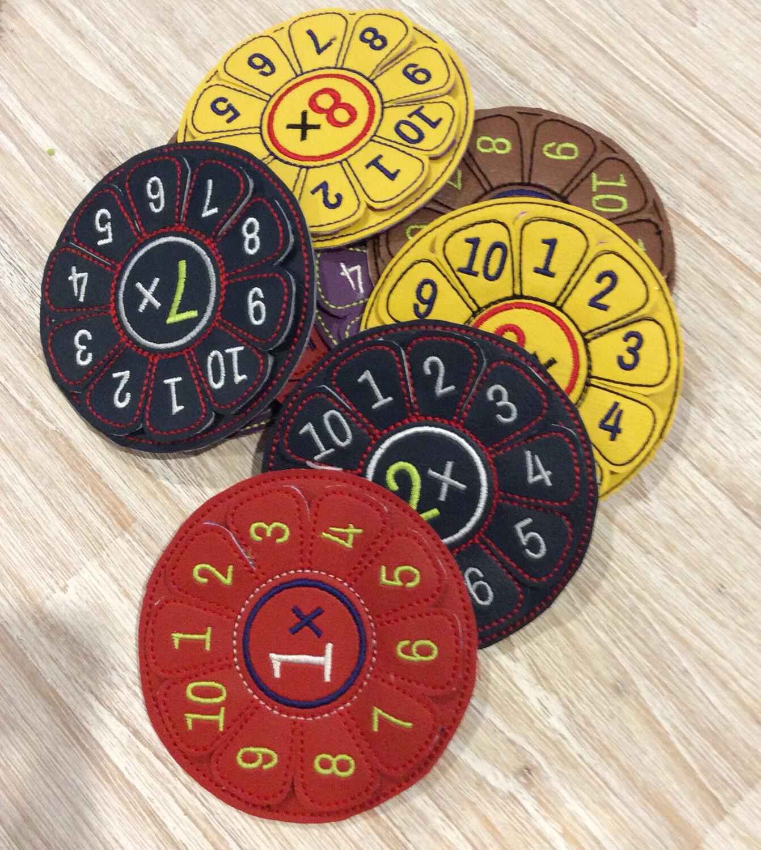 Multiplication Flower Disc