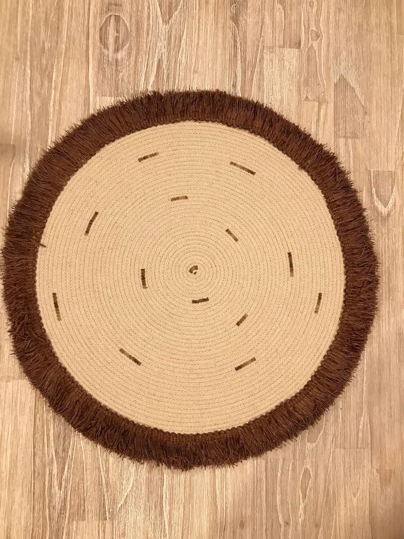 Boho Fringed Rope Table Mat
