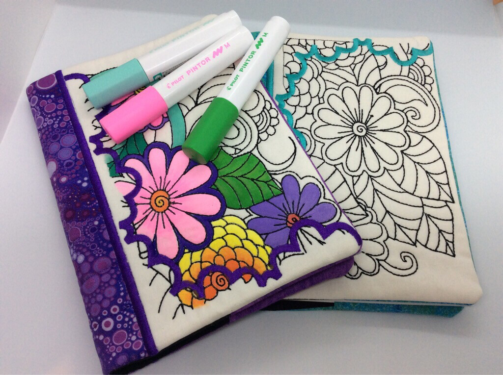 Colour Your Way Covered Notebook