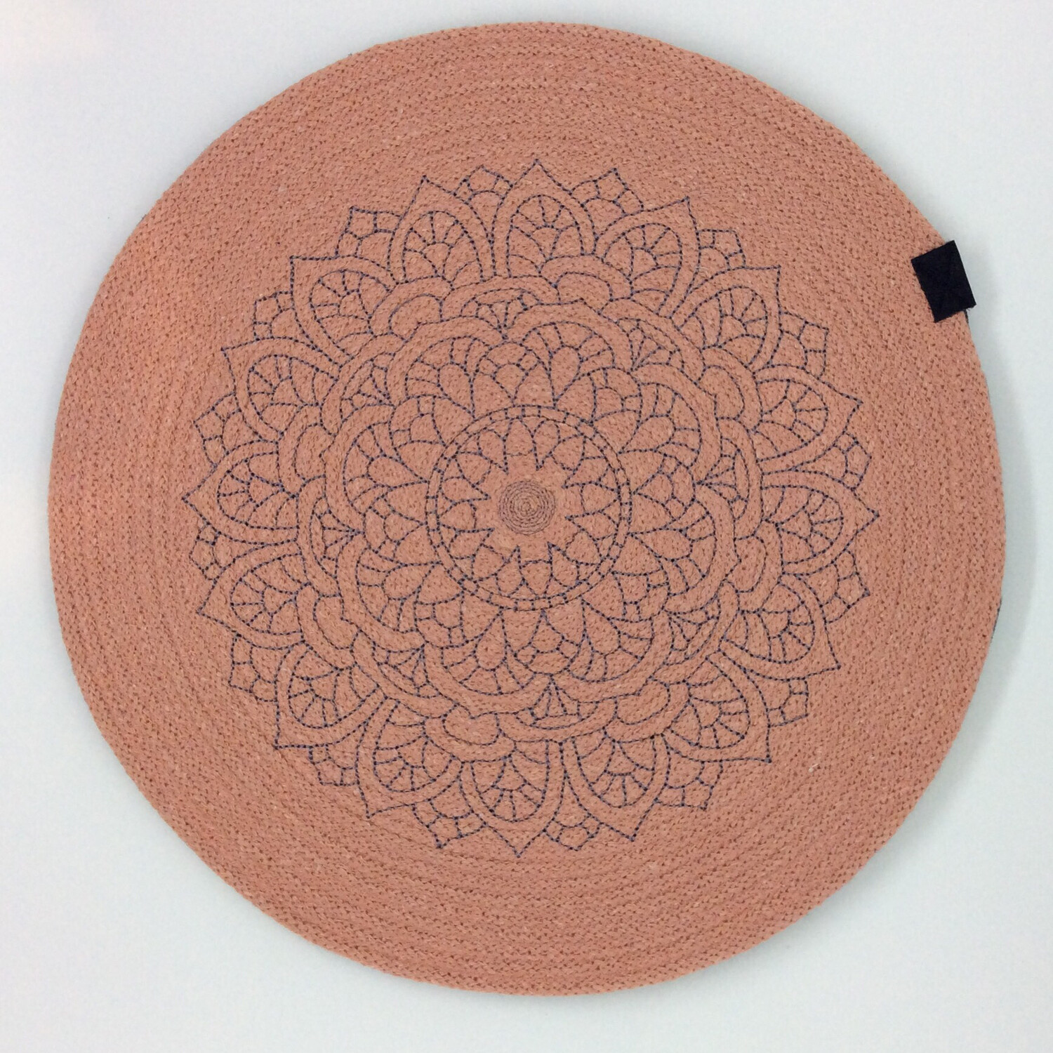 Embroidered Rope Placemats - Confetti
