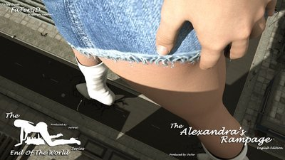 Alexandra's Rampage English Edition