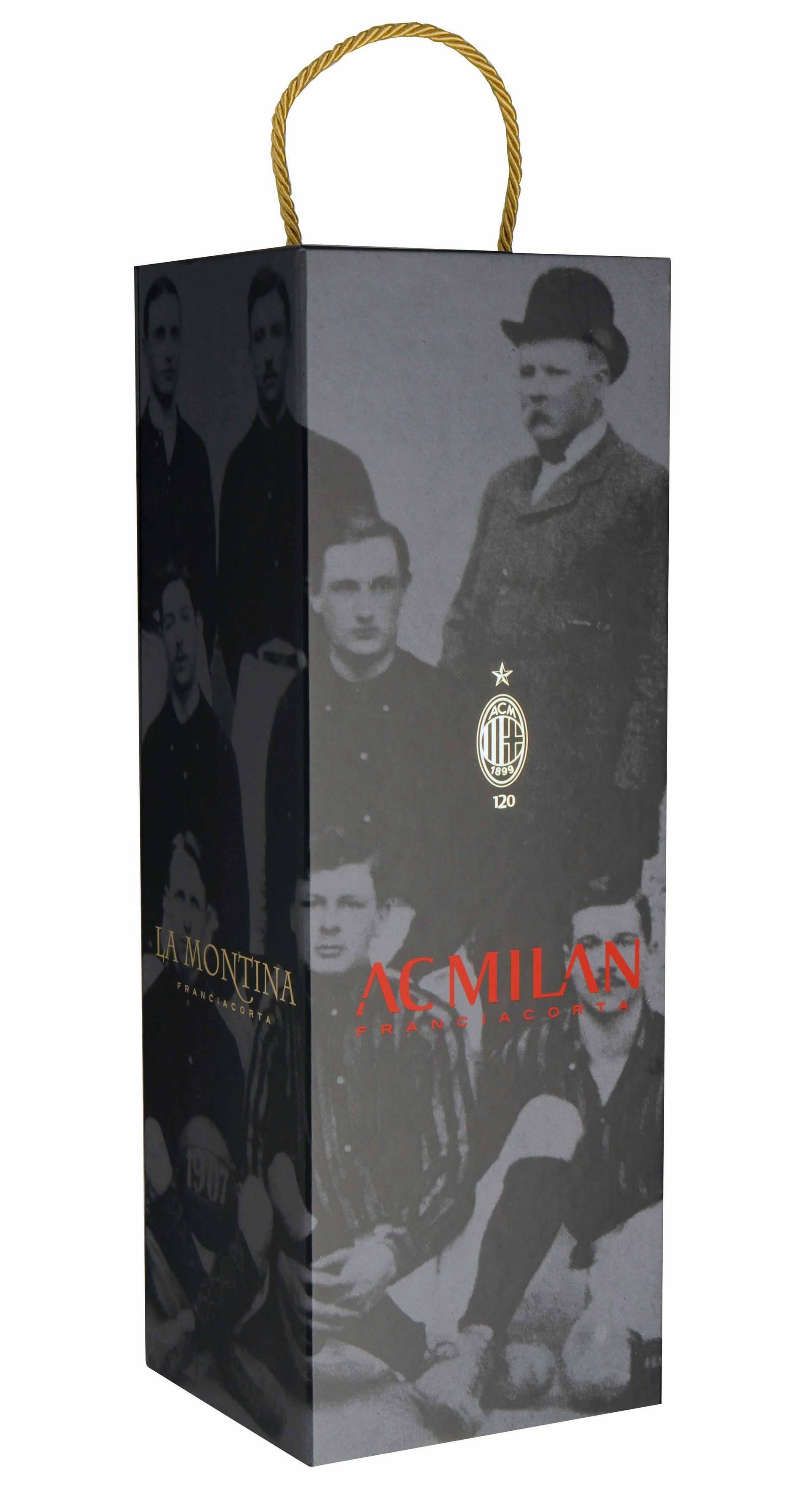 Magnum Franciacorta RossoNero anniversario 120° Ac Milan