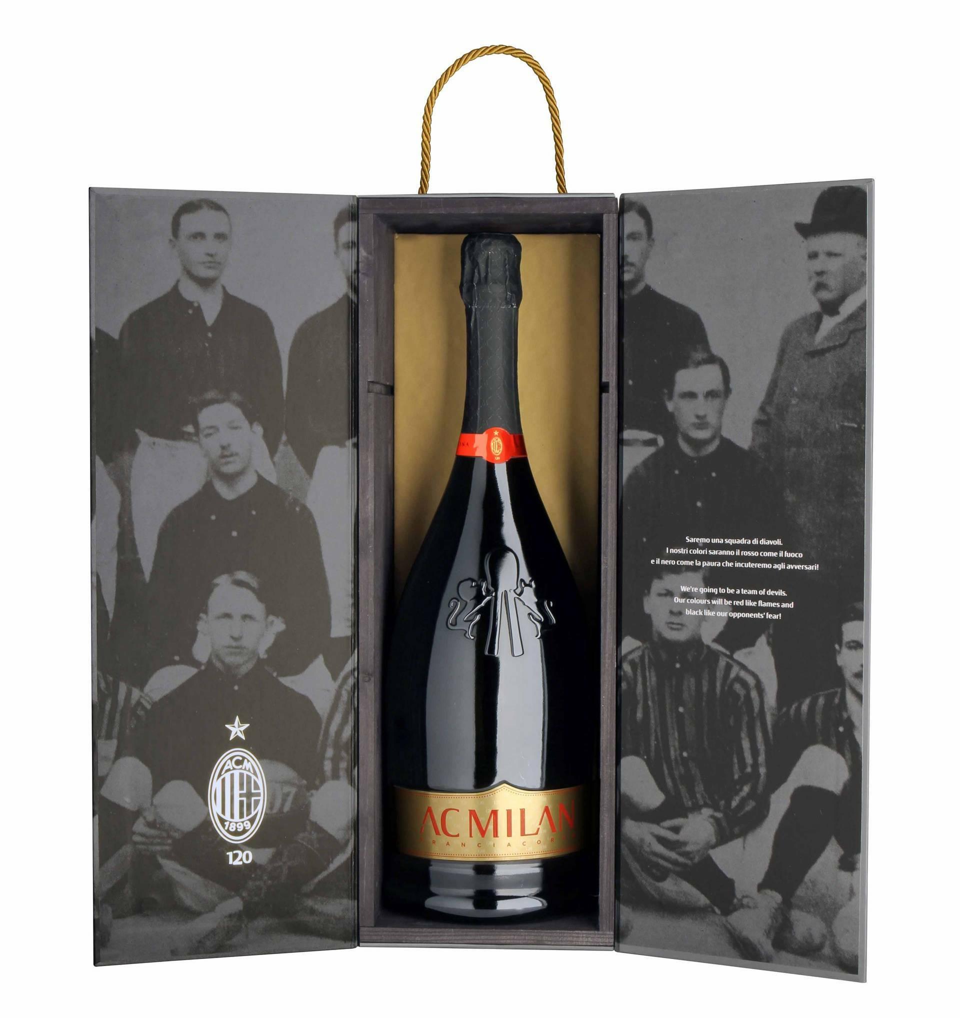 Magnum Franciacorta RossoNero anniversario 120° Ac Milan 15128