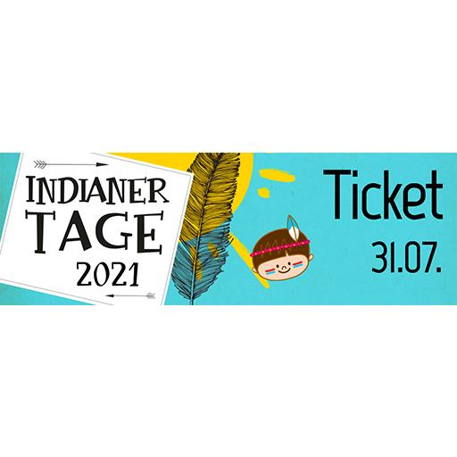 Ticket Indianertag   Samstag 31.07.2021
