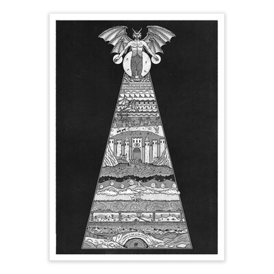 DANTE'S INFERNO - Limited Edition, Signed A3 Print