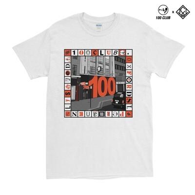 '100 CLUB x CJLW' T-Shirt
