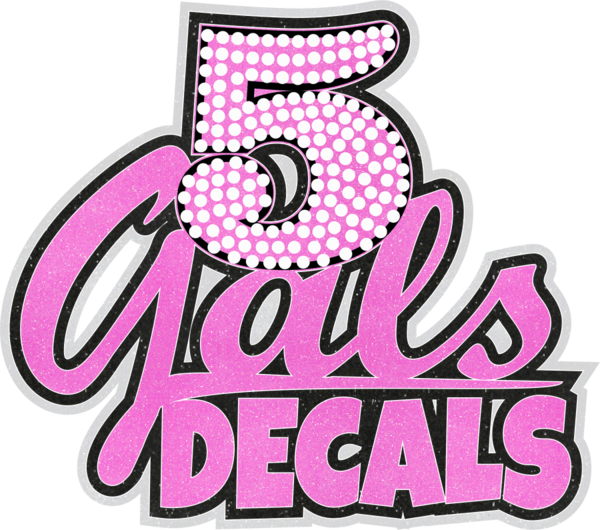 5 Gals Decals