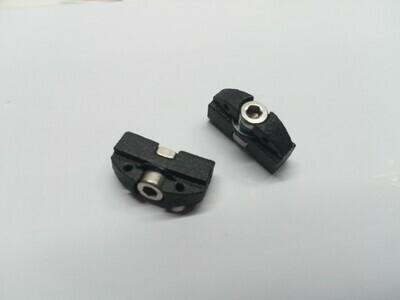 Boom track slide - SAILSetc spar - headsail swivel attachment