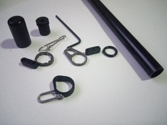 IOM Jib Boom Kit. A Rig Lightweight Boom (Black).