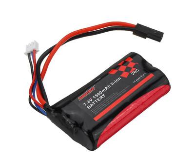 18650 7.4V 1500mAh 20C 2S Li-ion Battery