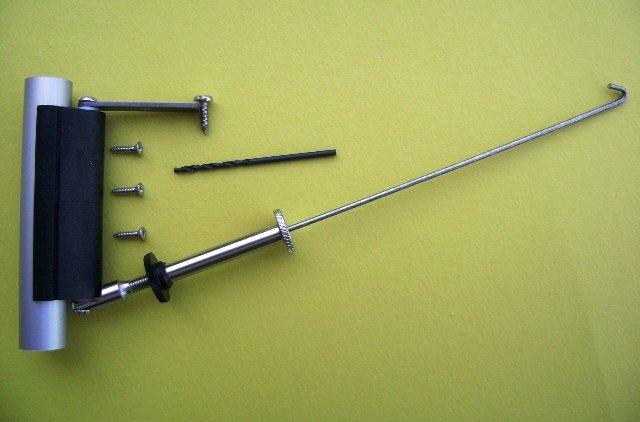 Gooseneck-Boom Vang for 10.8-12.8 dia Mast