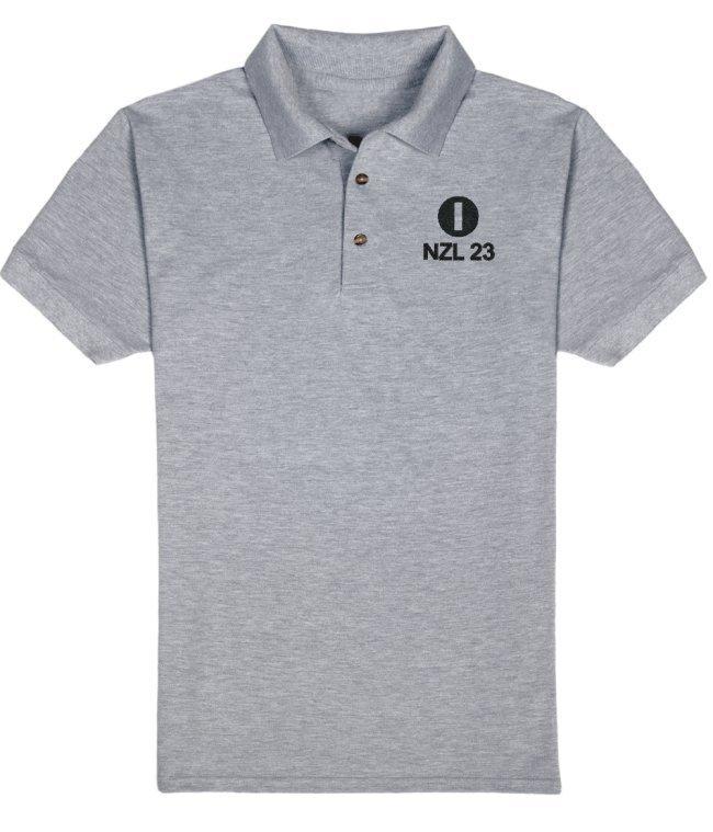 Men's Polo IOM Logo