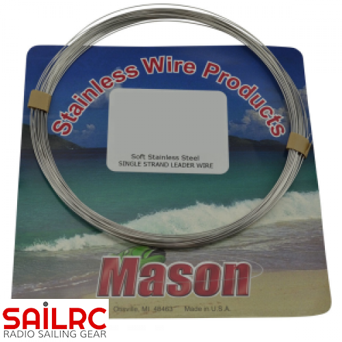 Rigging Wire Stainless Steel (Silver)