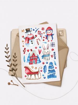 "Stickers ""Зимние игры"""