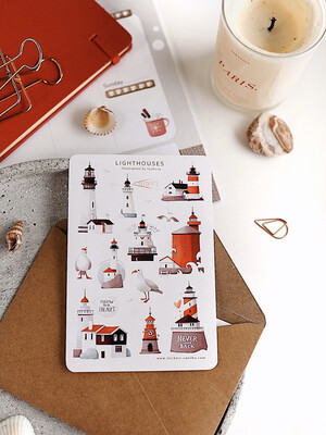 """Stickers """"LIGHTHOUSES"""""""