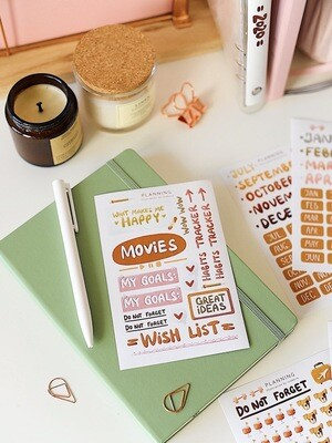 "Stickers ""Habit tracker"""