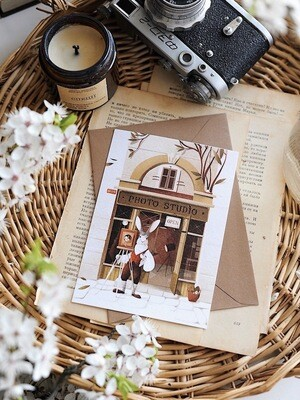 "Листівка ""Photo studio"""