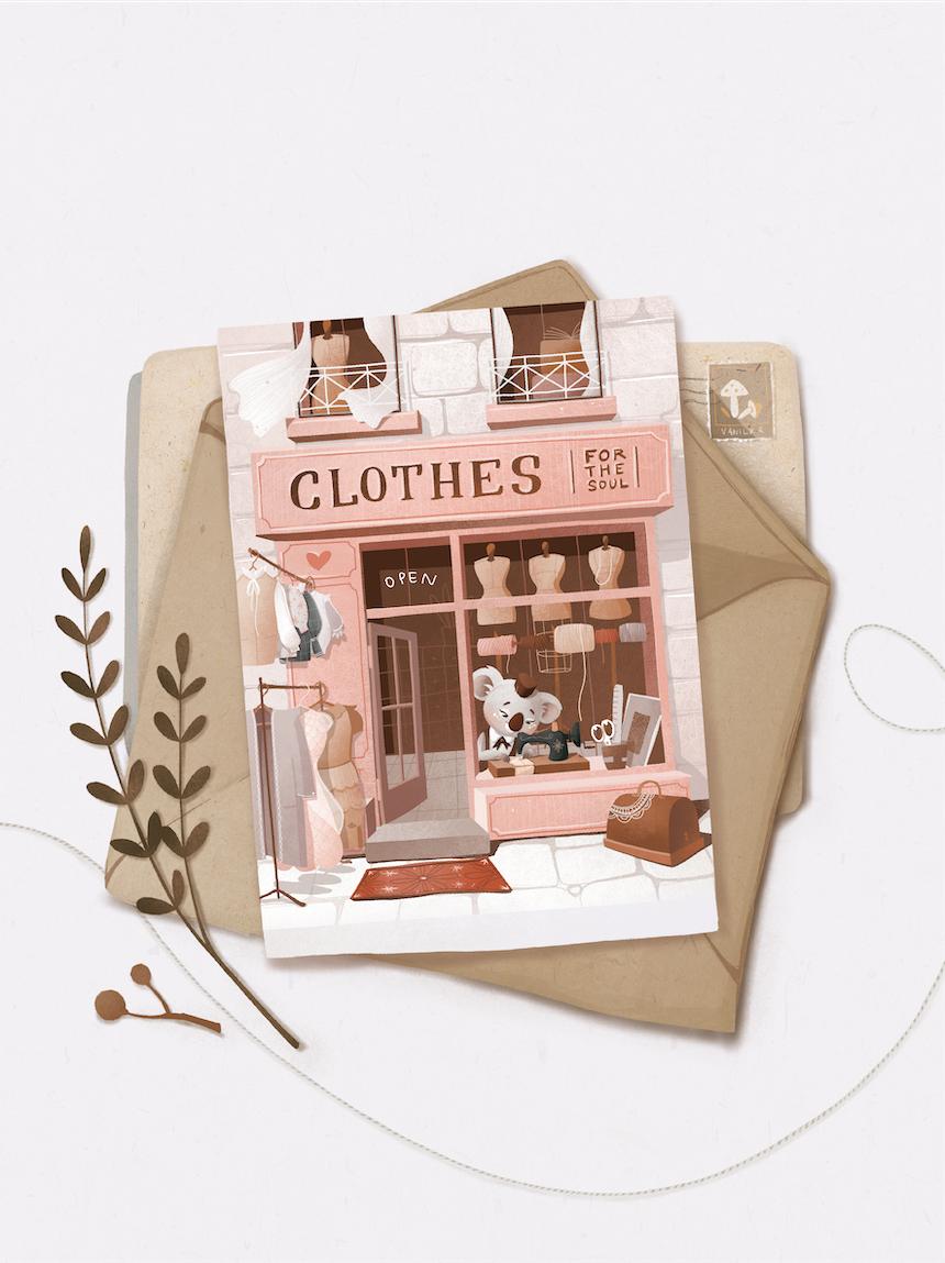 "Листівка ""Clothes"""