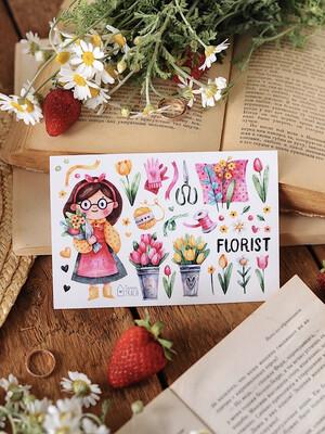 "Stickers ""Florist"""