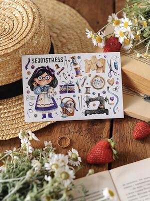 "Stickers  ""Seamstress"""