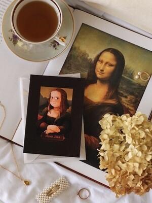 """Листівка """"Мона Ліза"""""""