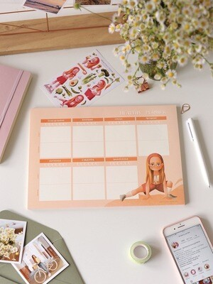 """Table planner """"Healthy"""""""