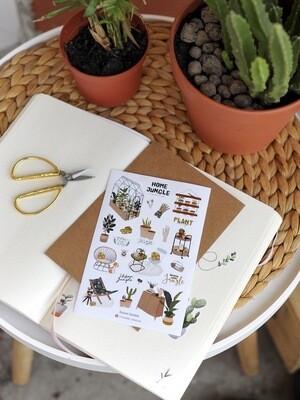 """Stickers  """"Gardening"""" - 1"""