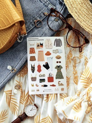 "Stickers ""Summer fashion"""