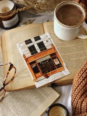 """Листівка""""Bookshop"""""""