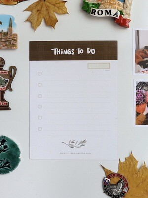 """Magnetic TO DO """"Autumn"""""""
