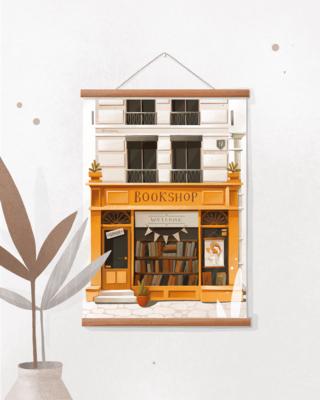 "Poster ""Bookshop"""