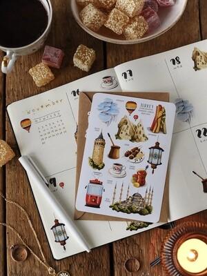 Stickers «Turkey»