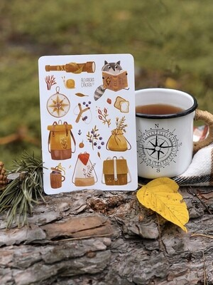 """Stickers """"Forest magic"""""""